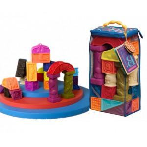 toys软胶积木 罗马城堡